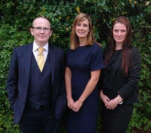 Conor Maguire, Lauren Crow and Kate Jackson, Directors of MJC Law